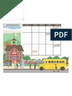 calendario evaluaciones Educ. Básica