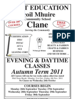 Scoil Mhuire Clane_Autumn 2011