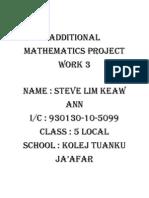 33542561 Additional Mathematics Project Work 3