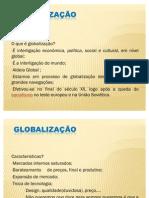 aula globalização