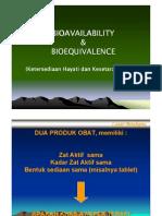 bioavailabilitas & bioekivalen (1)