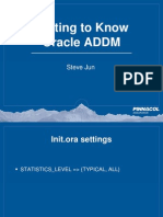 Addm Oracle Explained