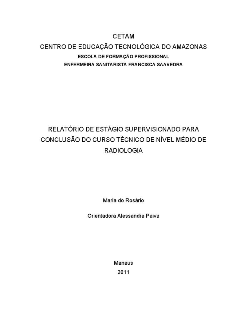 Modelos de relatorio tecnico