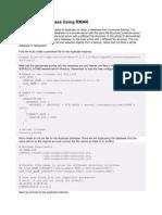 Duplicate a Database Using RMAN