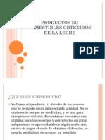Productos No Comestibles Obtenidos de La Leche