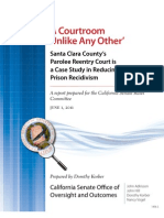 KORBER Courtroom Unlike Any Other Santa Clara County's Parolee Reentry Court is a Case Study in Reducing Prison