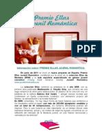 Info Sobre i Premio Ellas Juvenil Romantica