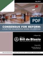 Consensus for Reform