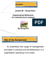 Assignment 05 - People Organization- CTC 2