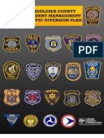 Middlesex Diversion Routes Map Book