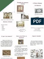 Folheto Beatriz e Bruna - 7.º B