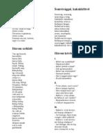 Kányádi Sándor versek