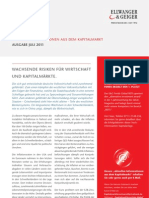 Aktuelle Informationen aus dem Kapitalmarkt - Juli 2011