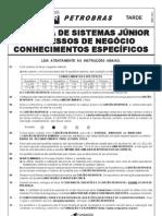 p 933 Petrobras2 Tarde Prova07 Anal Sistemas Jr Proces Negocio 20100521