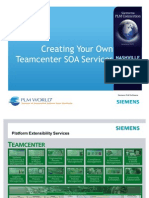 Creating Your Own Team Center SOA Services