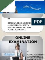 Online Exam Ppt