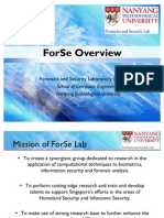 ForSe Short Overview