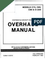 O-200 Manual