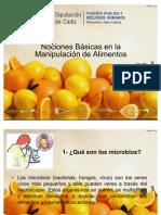 Capacitacion Manipulacion de Alimentos