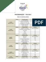 programação - FIG 2011