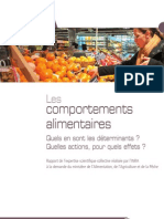 Esco Inra Comportements Rapport Complet