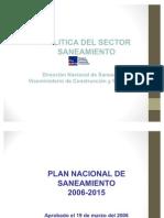 01 Políticas del Sector Saneamiento