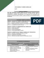 Programa Curso de Curriculum 2