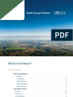 2009 Novus Sustainability Report