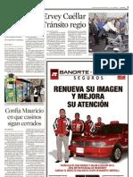Proponen a Ervey Cuellar para Trànsito de Monterrey