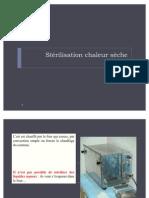 sterilisation chaleur seŠche
