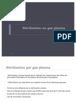 Sterilisation Gaz Plasma