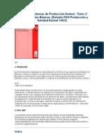 Análisis de Sistemas de Producción Animal  (TOMO 2)