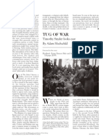 Article - Harper's - February 2011 - Adam Hochschild Reviews Timothy Snyder's Blood Lands