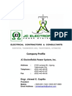 Jce Company Profile