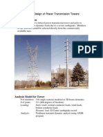 Transmission Tower(Optimal Design)
