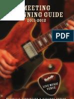 Nashville Meeting Planning Guide 2011-2012