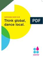 Digital Brochure - Sustainable Dance Club
