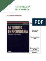 PASTOR MALLOL. La tutoría, elementos, funciones y tareas