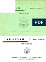 FSI Spanish Basic Course Volume 2 Student Text