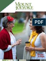 Mount Holyoke Alumnae Quarterly Summer 2011