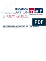 Advertising & the End of the World Study Guide
