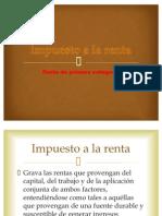 Diapositivas de Impuesto a La Renta