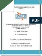 6. Normas Morales Etica Actividad
