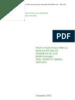 Piano Nazionale Riduzione Emissioni Gas Serra 2003
