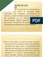 ADMINISTRACIÓN DE LOS INVENTARIOS