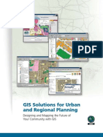Gis Sols for Urban Planning
