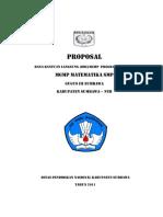 Proposal Mgmp 2011