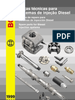CATALOGO BOSCH Bomba Injetora Pecas Diesel