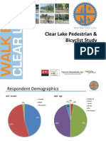 Walk Bike Clear Lake Survey Results - 072011