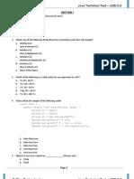 Java Technical Test Set 1